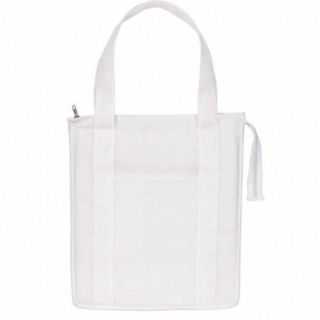 Custom Logo Non-Woven Insulated Shopper Tote Bag
