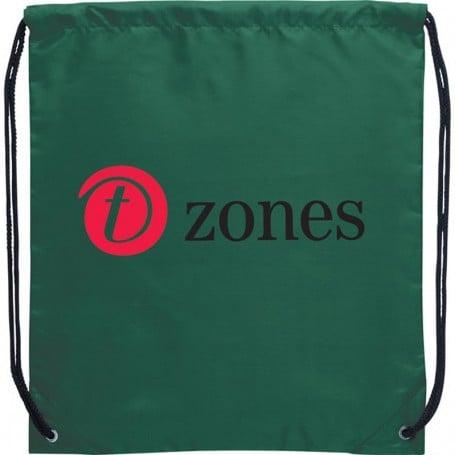 Custom Oriole Drawstring Cinch Backpack