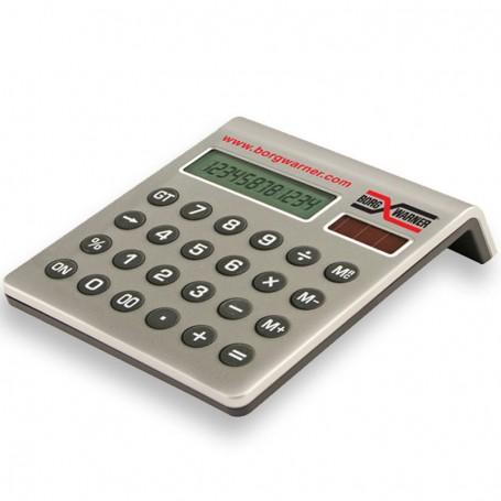 Custom Printed Dual Power Solar Calculator
