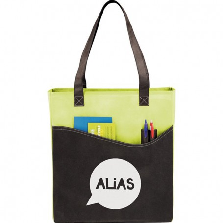 Custom Printed Rivers Pocket Convention Tote