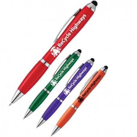 Custom The Nash Pen with Stylus - Spirit