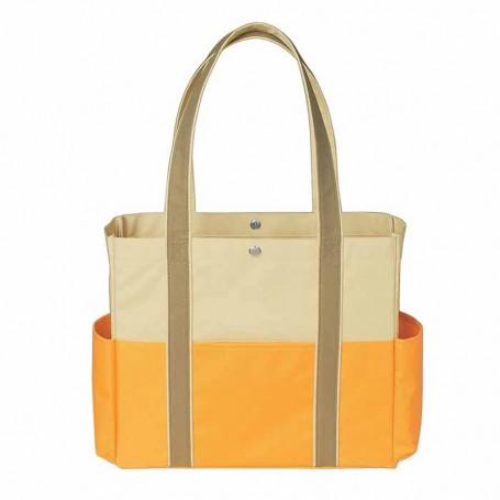 Custom Tri-Color Tote Bag