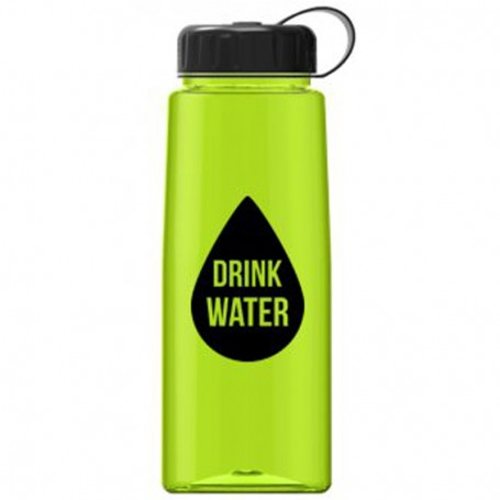 26 oz Tritan™ Flair Bottle with Tethered Lid