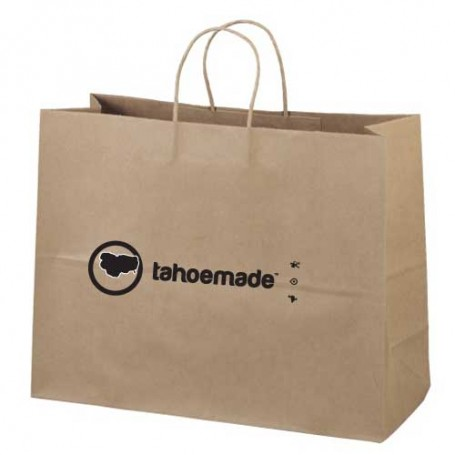 Logo Imprinted Recylced Shopping Bag