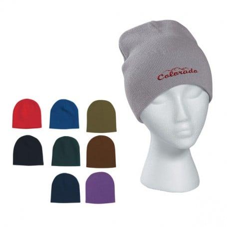 Customizable Knit Beanie Cap