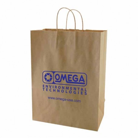 Customizable Recycled Natural Kraft Bags