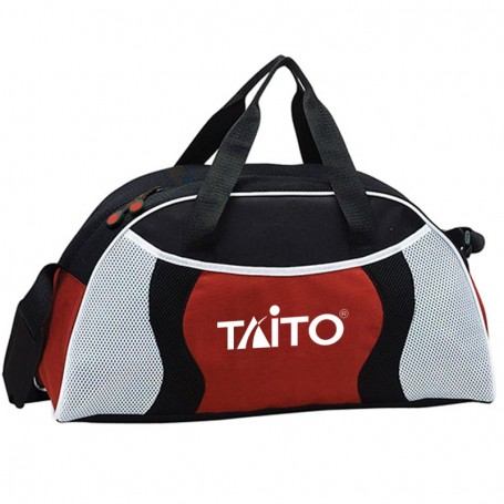 Imprinted All-Star Duffel - red
