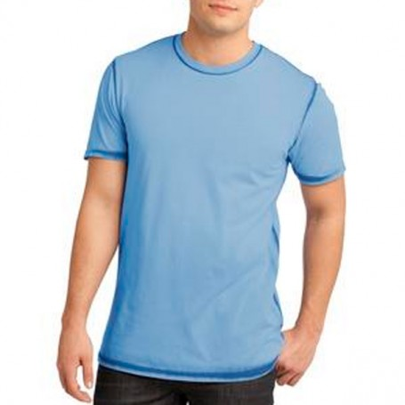 District Young Mens Faded Crew Tee