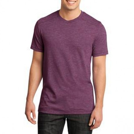 District Young Mens Gravel 50/50 Notch Crew Tee