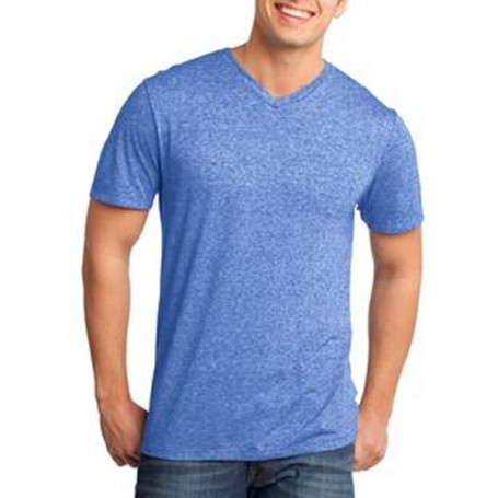 District Young Mens Microburn V-Neck Tee
