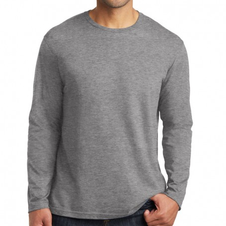 District Made Mens Perfect Weight Long Sleeve Tee (Apparel)