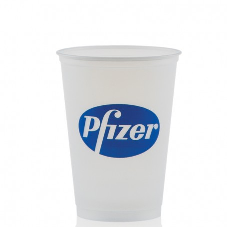 10 oz. Soft Sided Frosted Plastic Cups