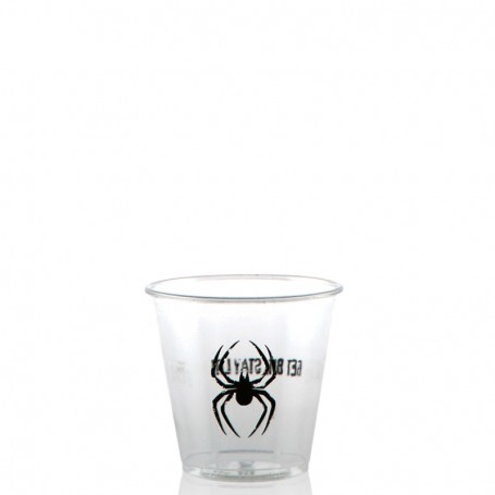 3.5 oz. Soft Sided Clear Plastic Cups