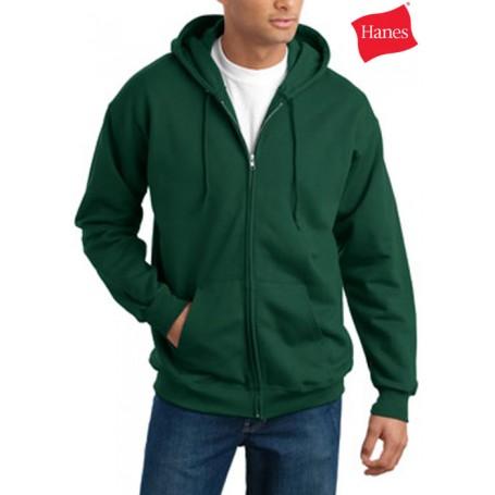 Custom Logo Full Zip Sweatshirt