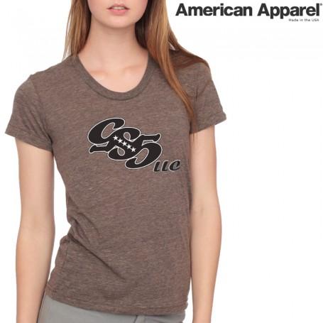 American Apparel TR301 / Women's Tri-blend Short Sleeve Track Tee