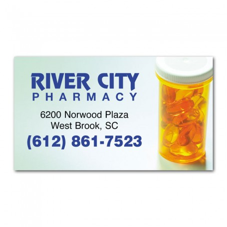 20mil Full Color Printed Business Card Magnet