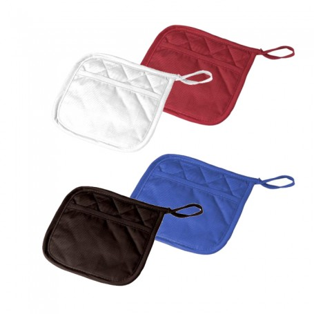 Customizable Poly Cotton Twill Potholder