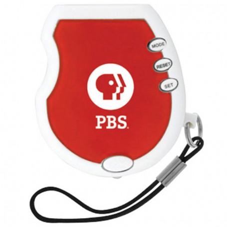 Imprintable Panic Pedometer