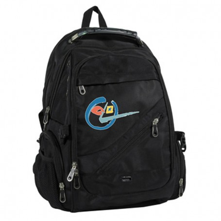 """Imprinted 17"""" Deluxe Laptop Backpack"""