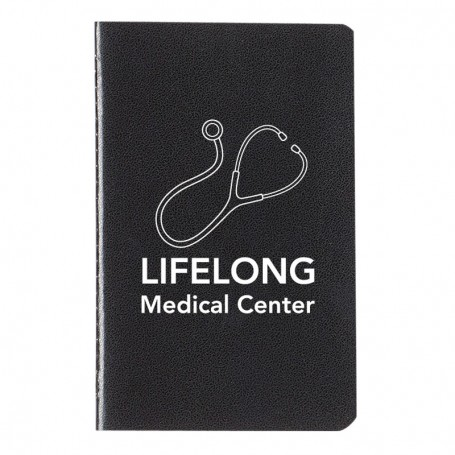 """Imprinted 3"""" x 5"""" Cannon Notebook"""
