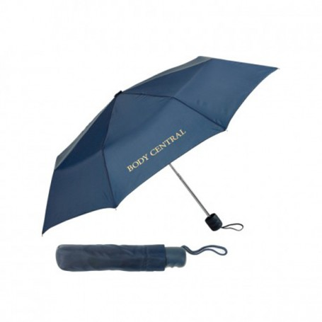 "Imprinted 42"" Arc Super Mini Umbrella"