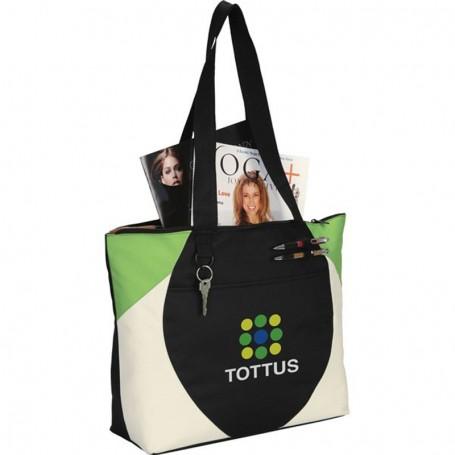 Imprinted Aspen Meeting Tote Bag