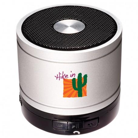 Imprinted Bluetooth® Cylinder Mini Speaker