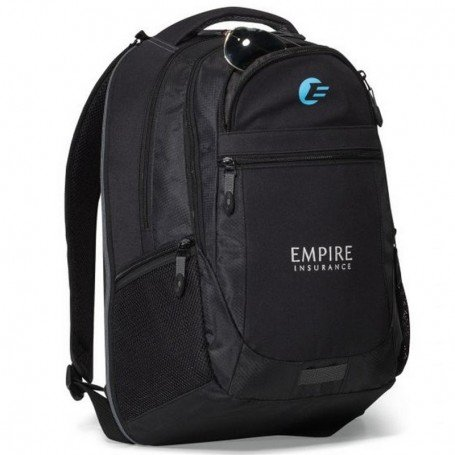 Imprinted Capital Computer Backpack