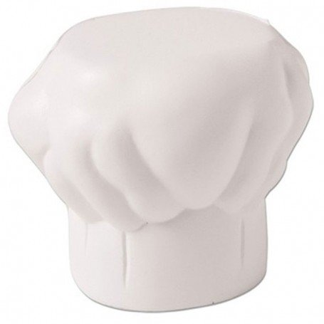 Imprinted Chef Hat Stress Reliever