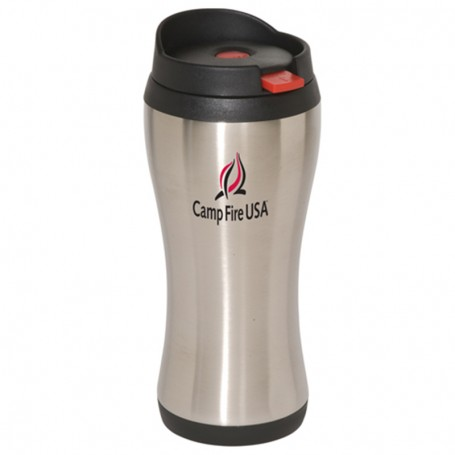 Imprinted Click 'N Sip 16 oz. Stainless Tumbler