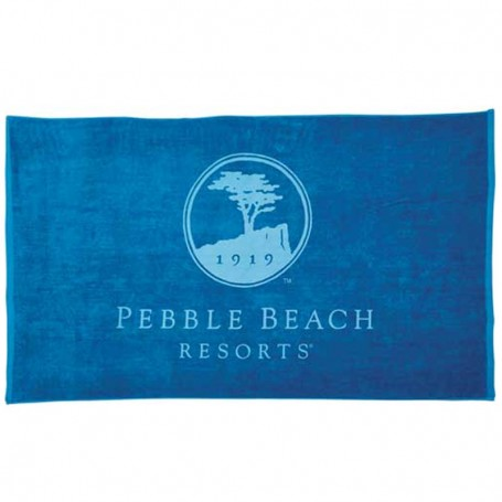 Imprinted Colored Beach Towel