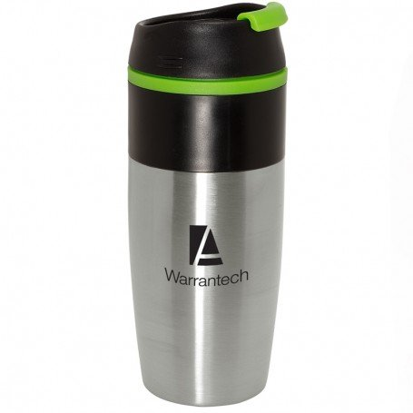 Imprinted Easy-Sip 15 oz. Stainless Tumbler