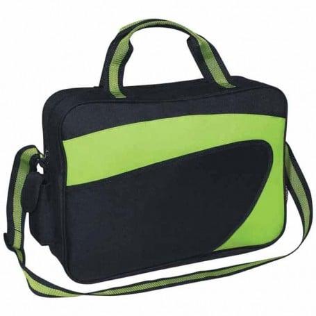 Imprinted Ecliptic Briefcase/Messenger Bag