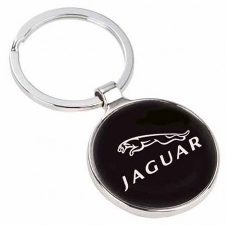 Imprinted Gun Metal Plate Round Key Holder