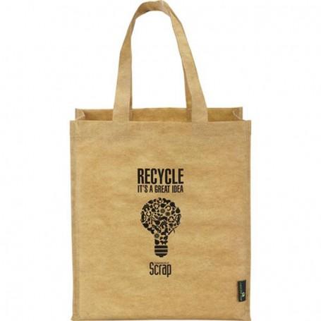 Imprinted Matte Laminated Grocers Brown Bag