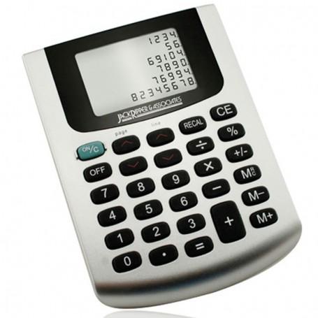 Imprinted Six Line Desk Top Table Calculator