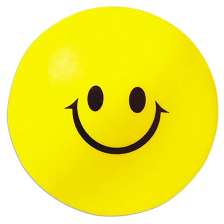 Imprinted Smiley Face Stress Reliever
