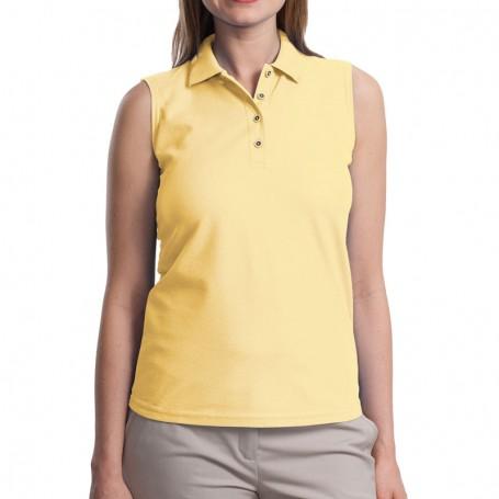 Port Authority Ladies Silk Touch Sleeveless Polo
