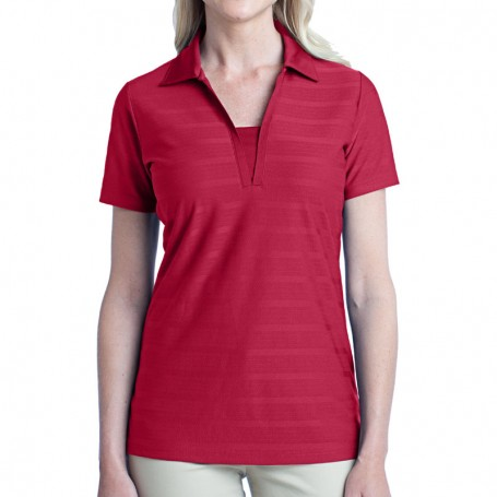 Port Authority Ladies Horizontal Texture Polo