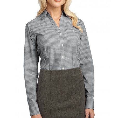 Port Authority Ladies Plaid Pattern Easy Care Shirt (Apparel)