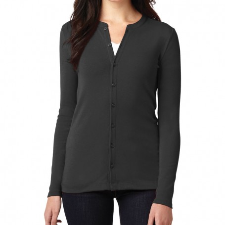 Port Authority Ladies Concept Stretch Button-Front Cardigan (Apparel)