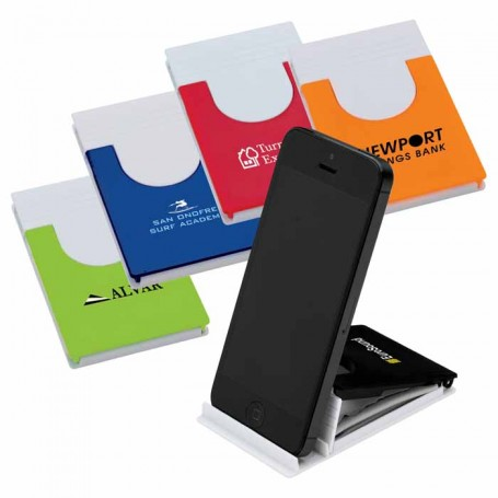 Logo Phone Stand with Microfiber Cloth