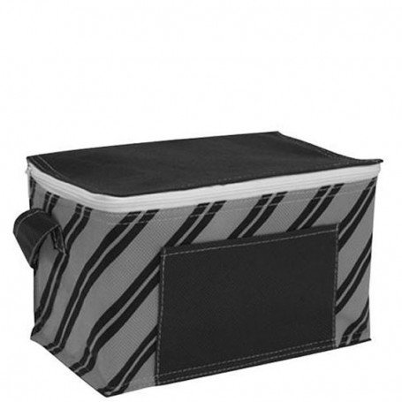 Logo Poly Pro Printed 6-Pack Cooler