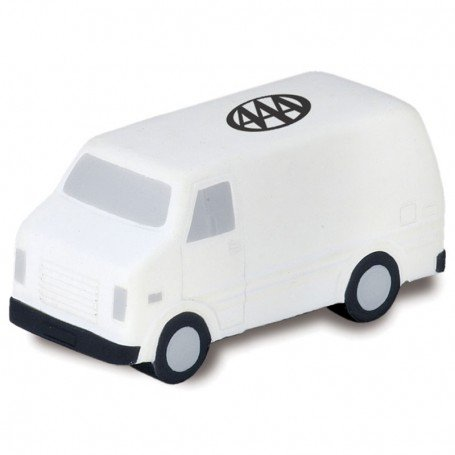 Logo Printed Delivery Van Stress Reliever