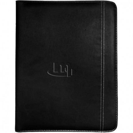 Logo Ultimate Zippered Tablet Padfolio