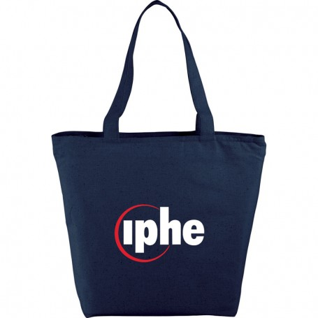 Customizable The Maine Zippered Cotton Tote