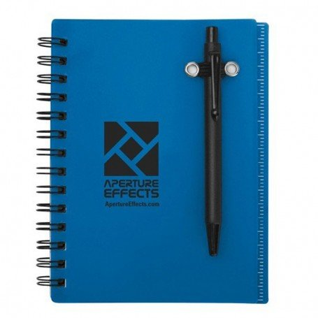 Monogrammed Impact Mini Notebook with Ruler and Pen