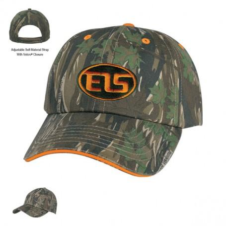 Monogrammed Camouflage Cap
