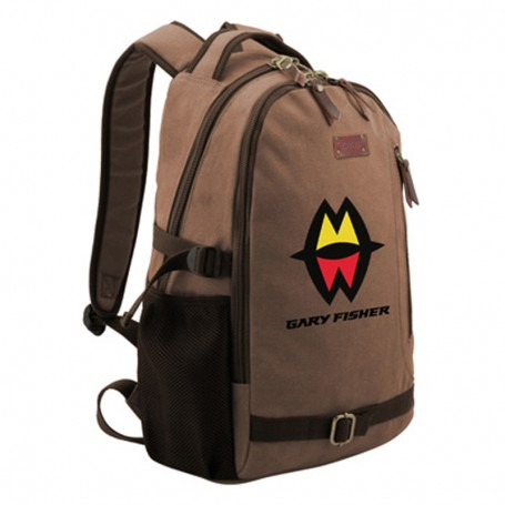 Monogrammed Canvas Backpack
