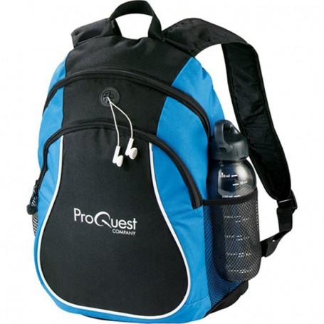 Monogrammed Coil Backpack